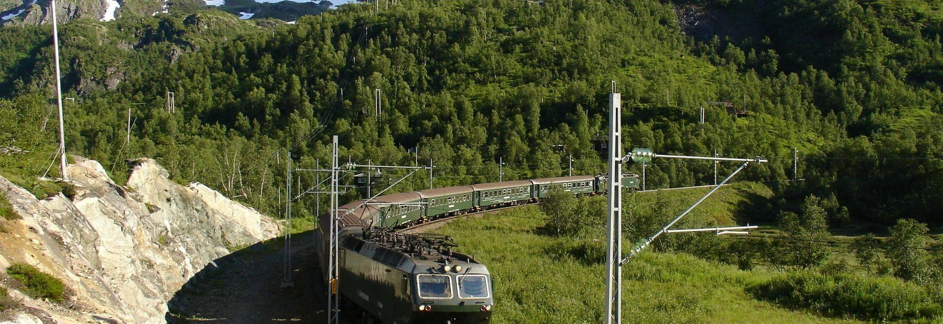 Dreamstime M 24308438 Flam Railway