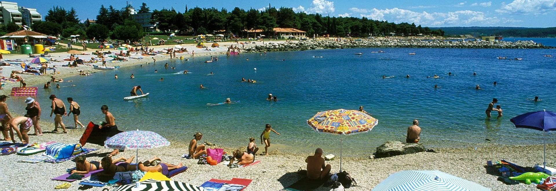 Sea Beaches   More Plaze Beaches   Plaze Novigrad Plaza Hotel Maestral 02