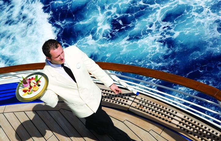 Waiter on DeckSilver Shadow - Silversea Cruises