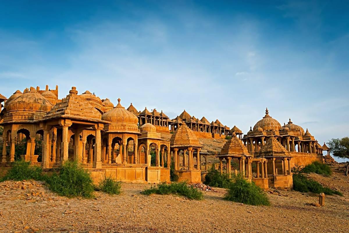 Jaisalmer Chhatris