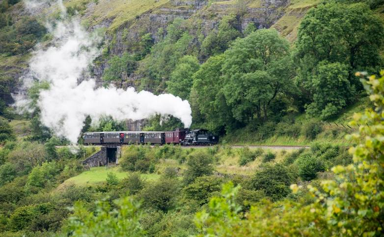 Brecon Mountain Railway,Wales,UK