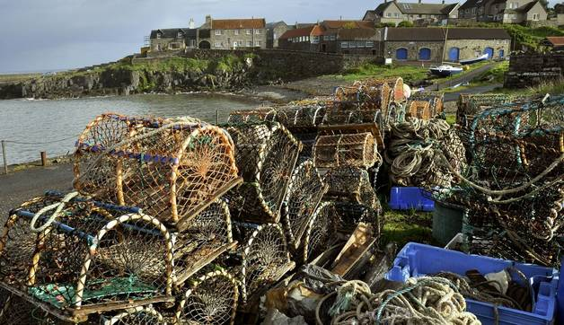 Small fishing village in  North East of England.