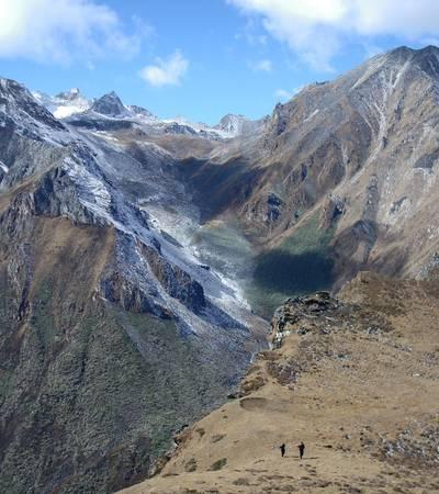 Summit of Saga La at 4,820m