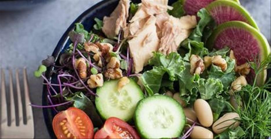 Tuna and Black-eyed Pea Bean Salad by Longevity Wellness