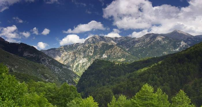 Taygetos Mountains