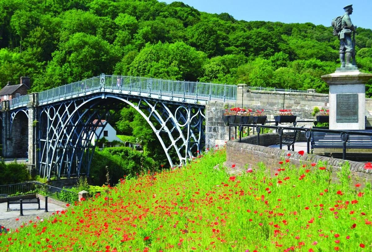 Ironbridge Poppy Memorial