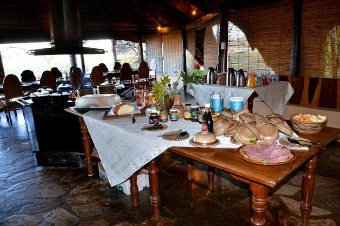 nkwazi lodge breakfast buffet