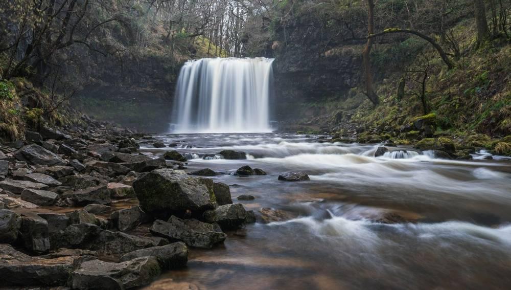 Sgwd yr Eira waterfall Brecon