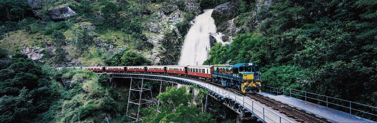 Spirit of Queensland Explorer and Rainforest Rail Adventure