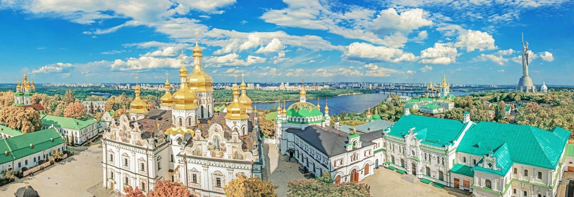 Kiev. Ukraine. Kiev Pechersk Lavra or the Kiev Monastery of the Caves.