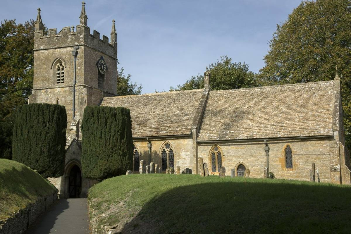 Parish Church, Upper Slaughter; Cotswold Village; Cheltenham