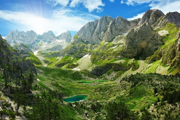 Albanian Alps Shutterstock 154266695