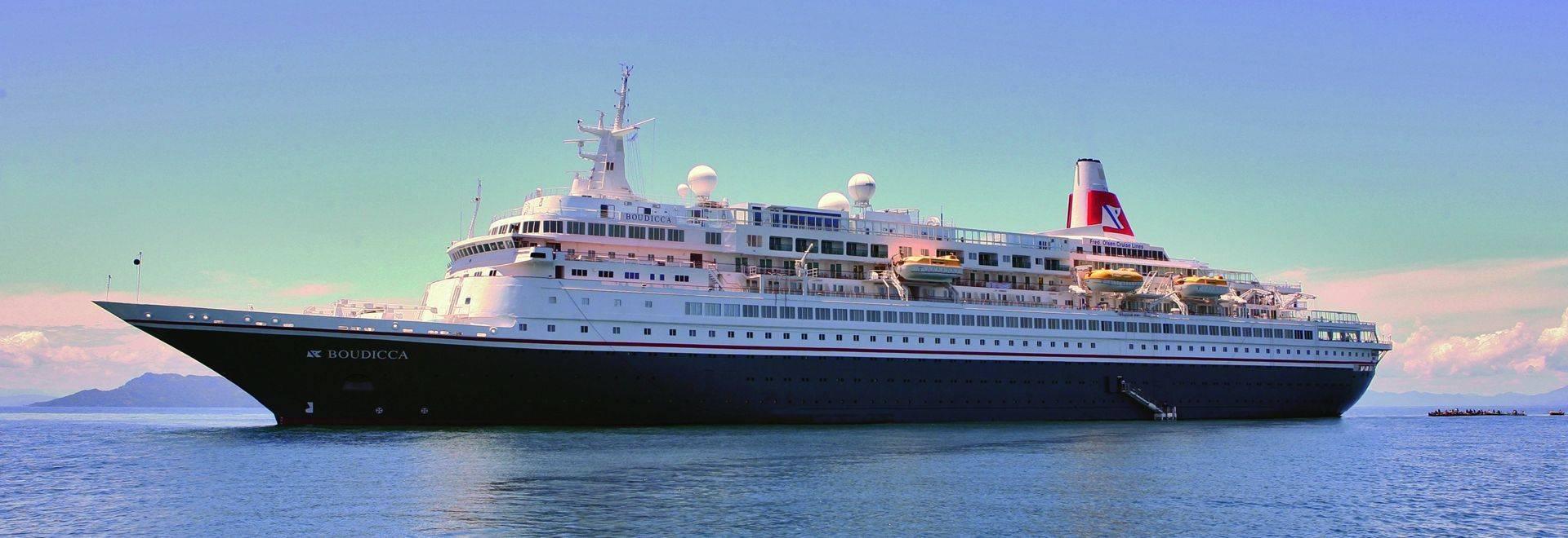 Boudicca at sea, tender