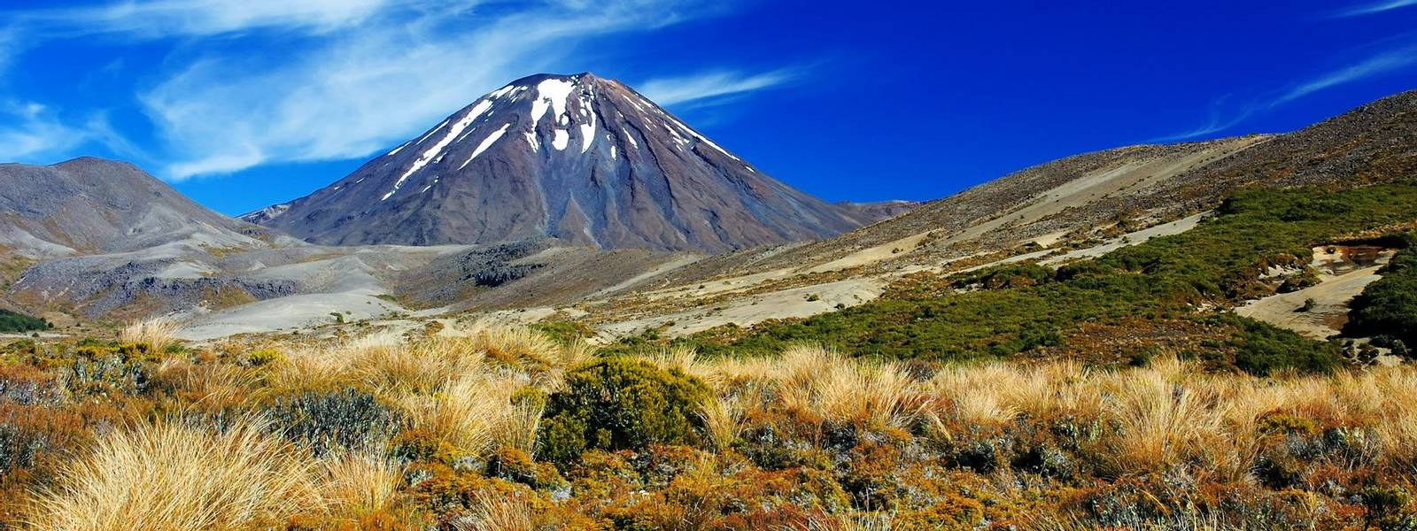 Vulcano Ngauruhoe - Tongariro NP