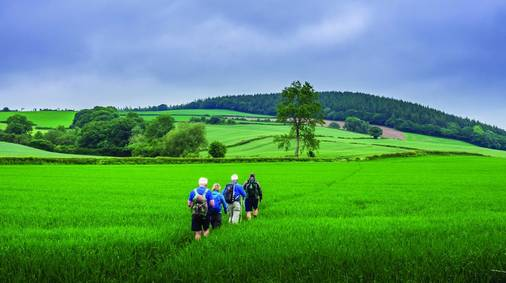 4-Night Shropshire Hills Gentle Walking Holiday
