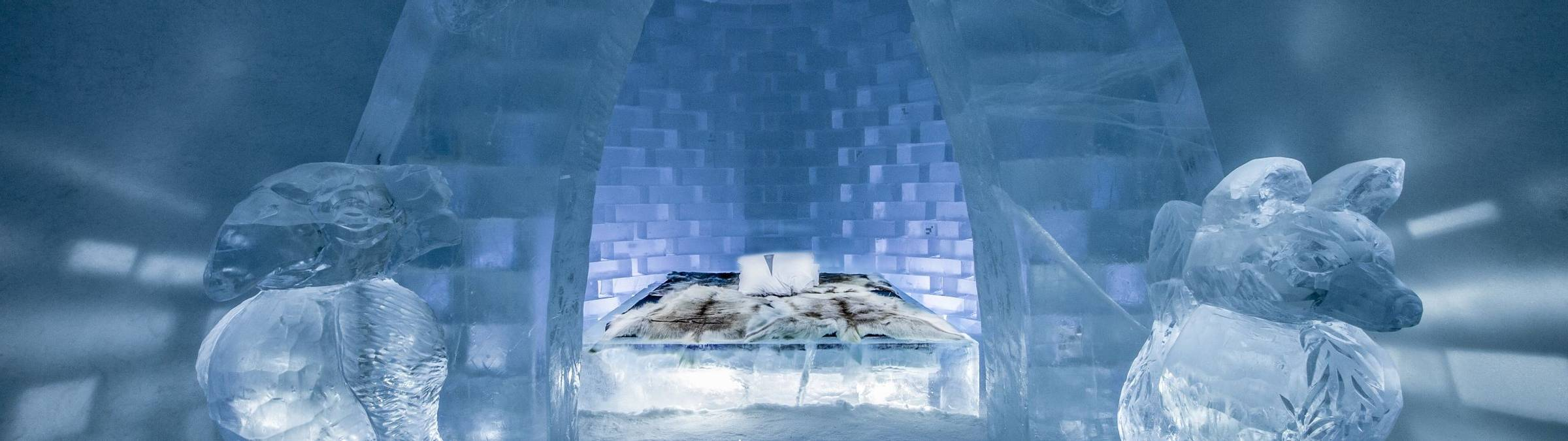 ICEHOTEL 29  Art Suite Haven Design Jonas Johansson, Jordi Claramunt & Lukas Petko. Photo RESIZED Credit Asaf Kliger & ICEHO…