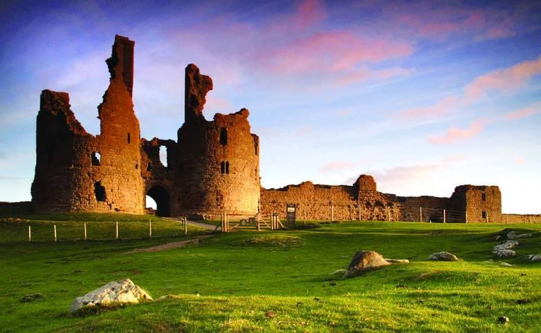 dunstanburgh, castle,