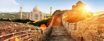 Wonders of the World: From the Taj Mahal to the Great Wall of China