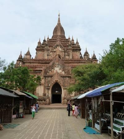 Htilominlo in Bagan