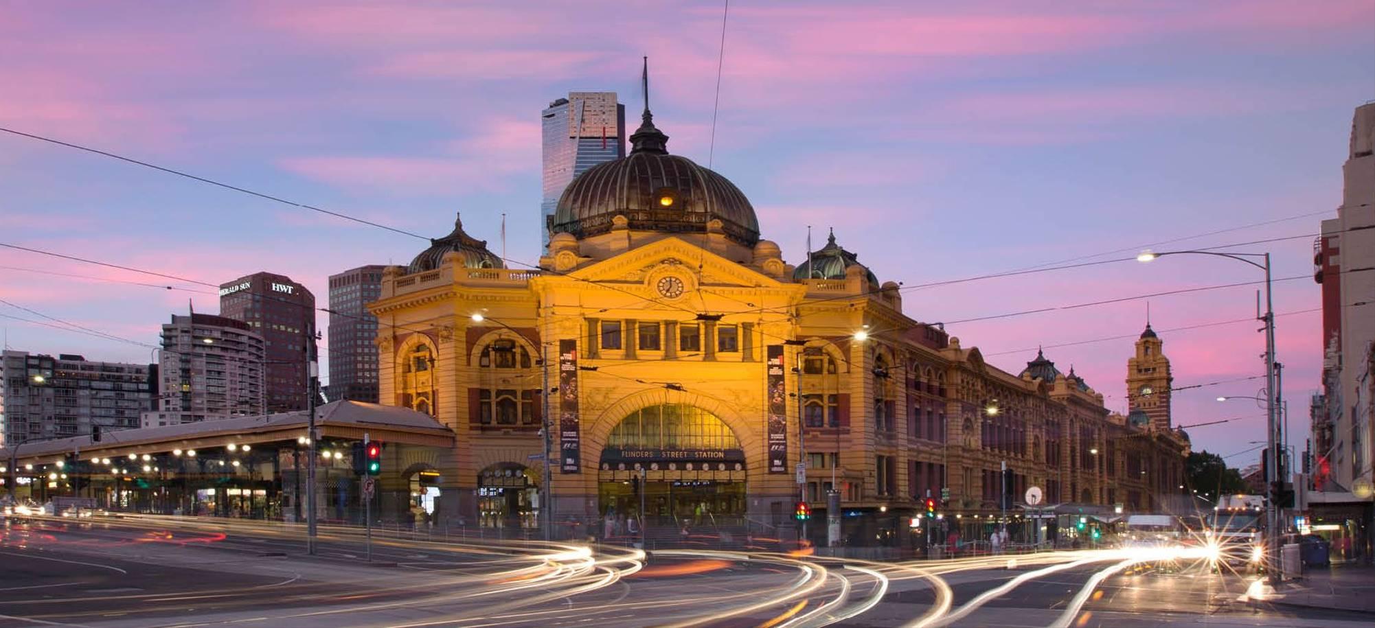 Melbourne Desktop Image