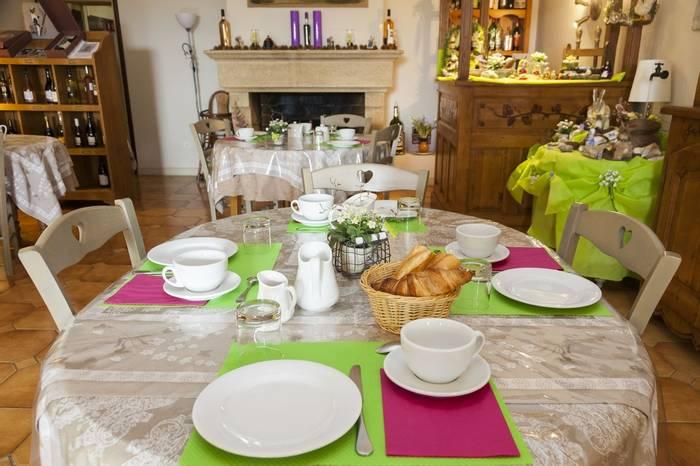 Breakfast at the Hotel Granges Arles