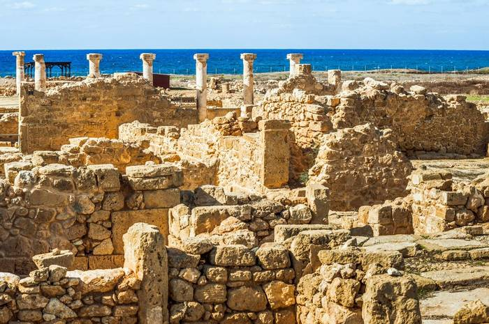 Ruins At Kato Paphos, Cyprus Shutterstock 776581300