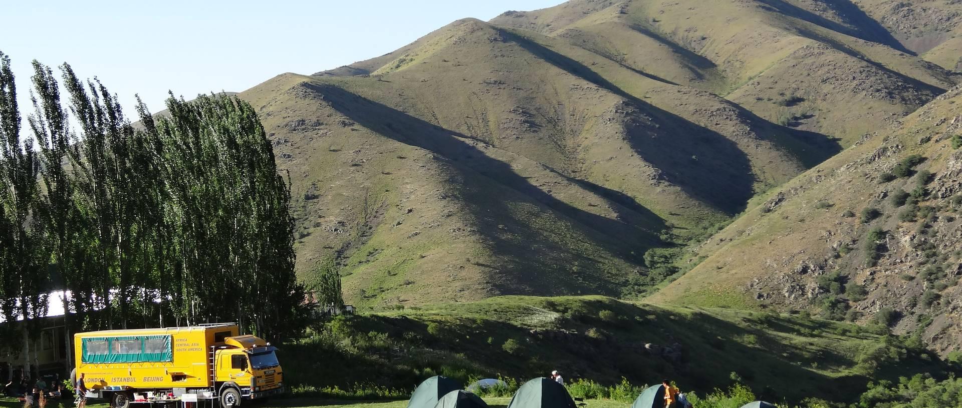 Camping Kazakhstan