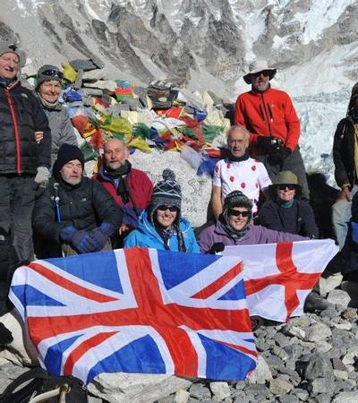 TMC Group at Everest Base Camp (5,300m)