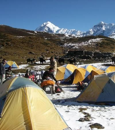 Dzongri  camp (3,990m)