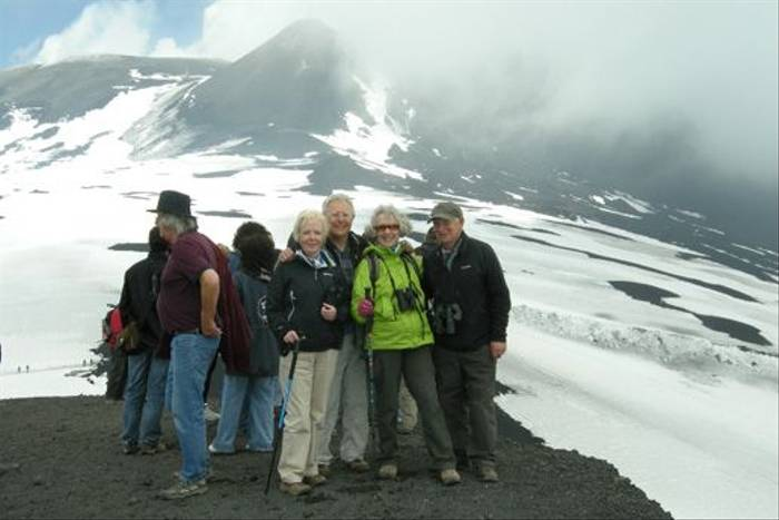 The intrepid climbers/ Naturetrek clients! (Dave Nevitt)