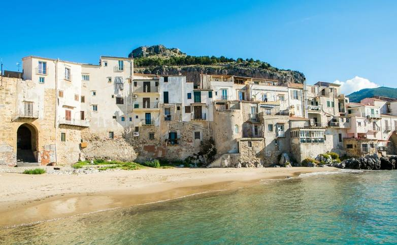 Cefalu old town, Sicily, Italy