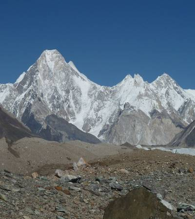 Summit of Gasherbrum 4