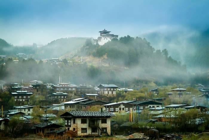 Jarkar Dzong Town, Bumthang Valley, Bhutan shutterstock_707090890.jpg