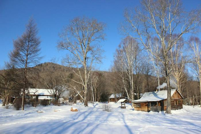 Our Base Camp In Durminskoye