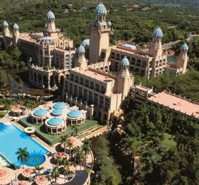 Pretoria - Disembark The Blue Train and Sun City Hotel Stay