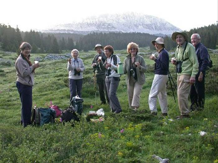 Group on the Hauts Plateaux (Paul Harmes)