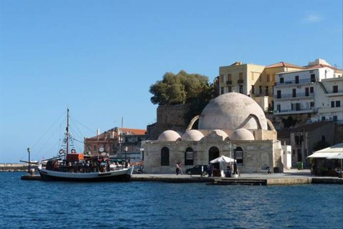 Chania waterfront