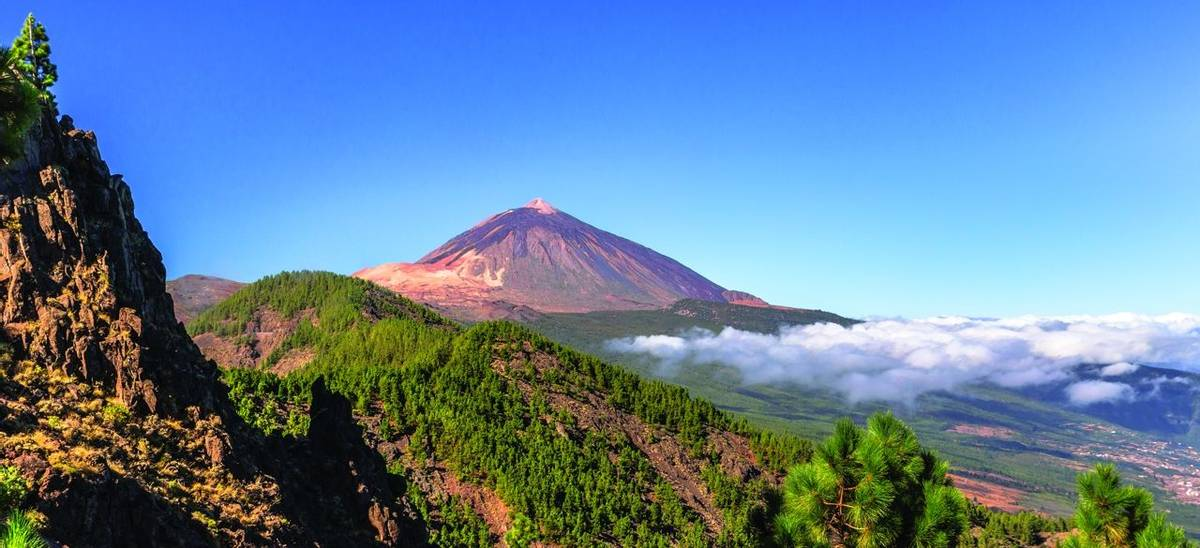 Panoramic of the Teide and Orotava Valley