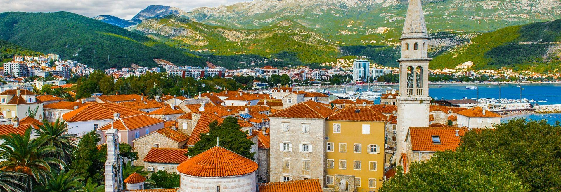 Shutterstock 158655266 Panorama Of The Old Town Of Budva