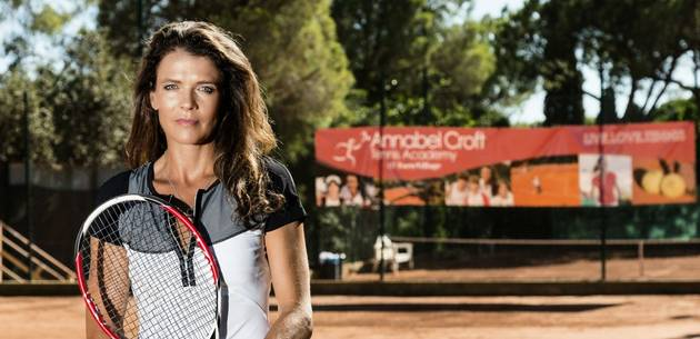 Annabel Croft Tennis at Pine Cliffs Resort