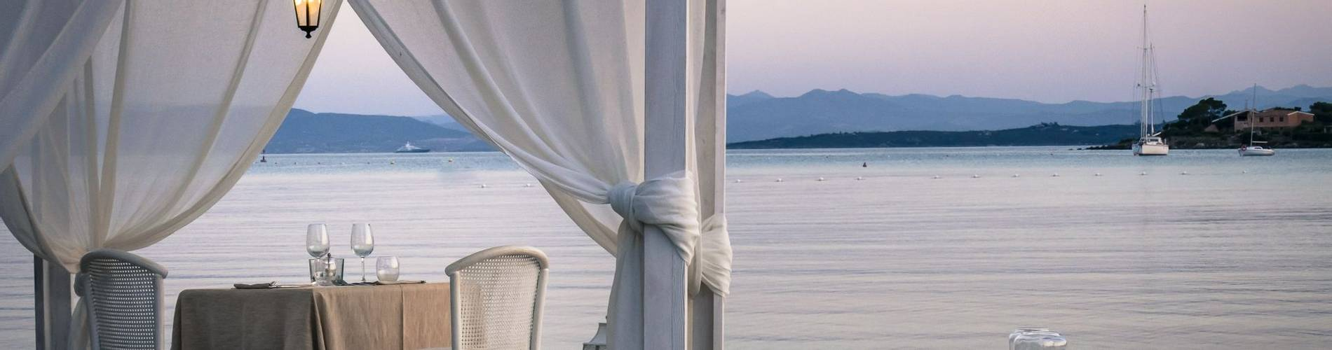 Gabbiano Azzurro Hotel _ Suites Sardinia - beach dinner 1.jpg