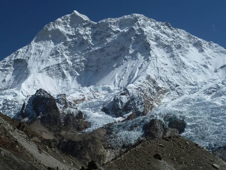 Mount Makalu with West ridge