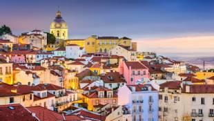 Shutterstock 276731033 Lisbon, Portugal Twilight Cityscape At The Alfama District.