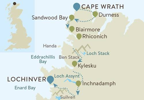 Cape Wrath Map