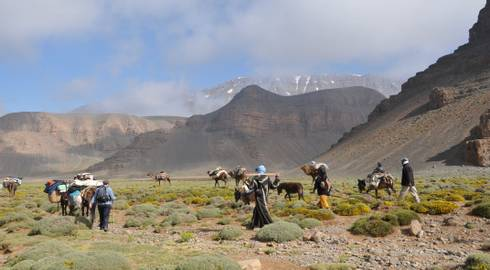 MARRAKECH to MARRAKECH (11 days) Trek Morocco - The Berber Migration