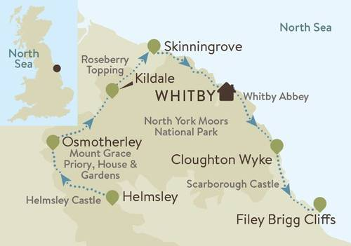 Cleveland Way Map new