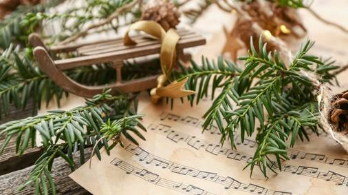 Songs for Christmas holiday in the Cotswolds