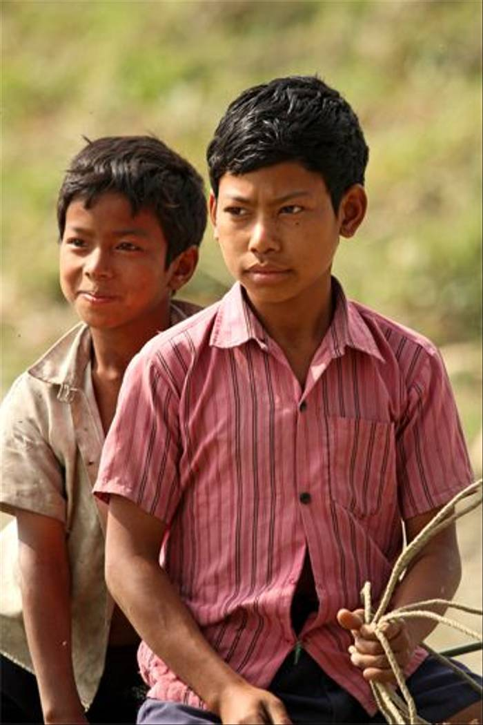 Assamese Children (Bret Charman)