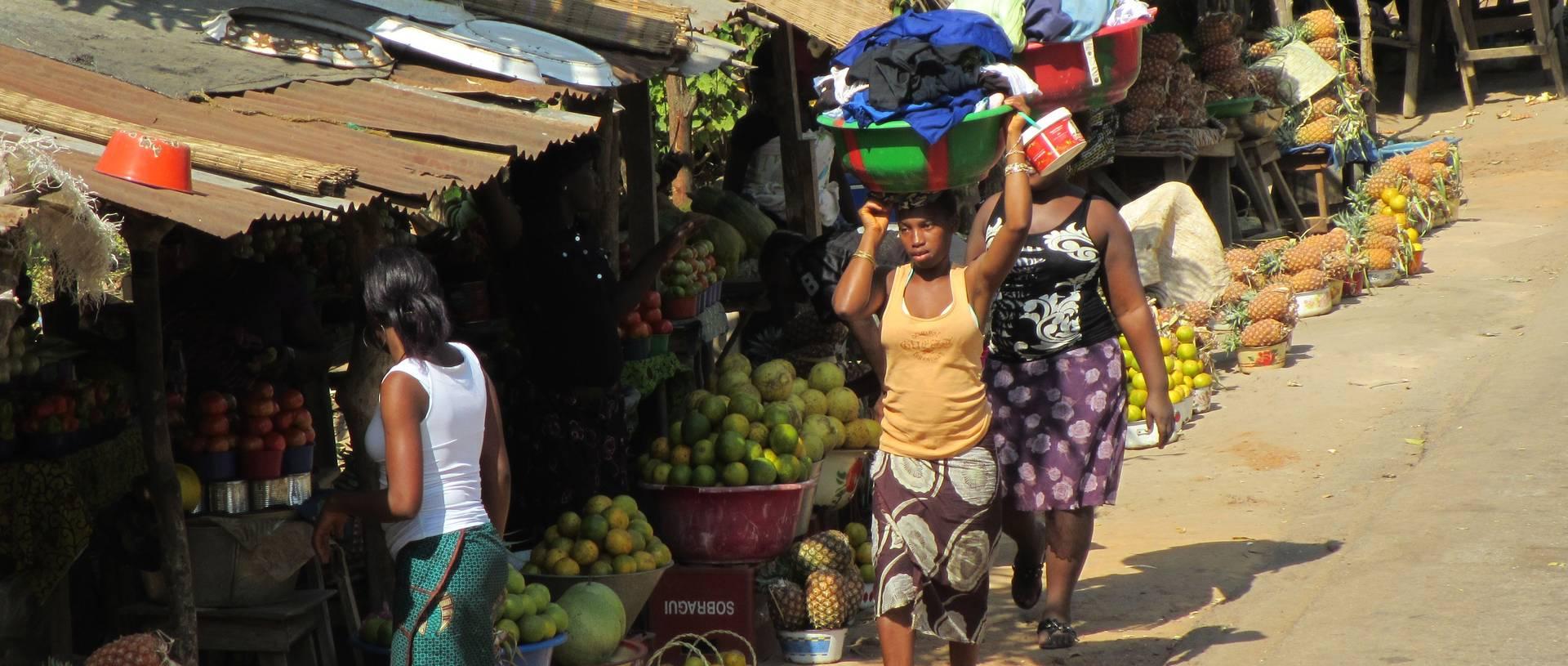 Street Market, Guinea