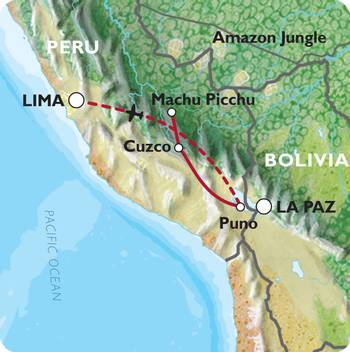 CUSCO to LIMA (12 days) Inca Trail & Titicaca